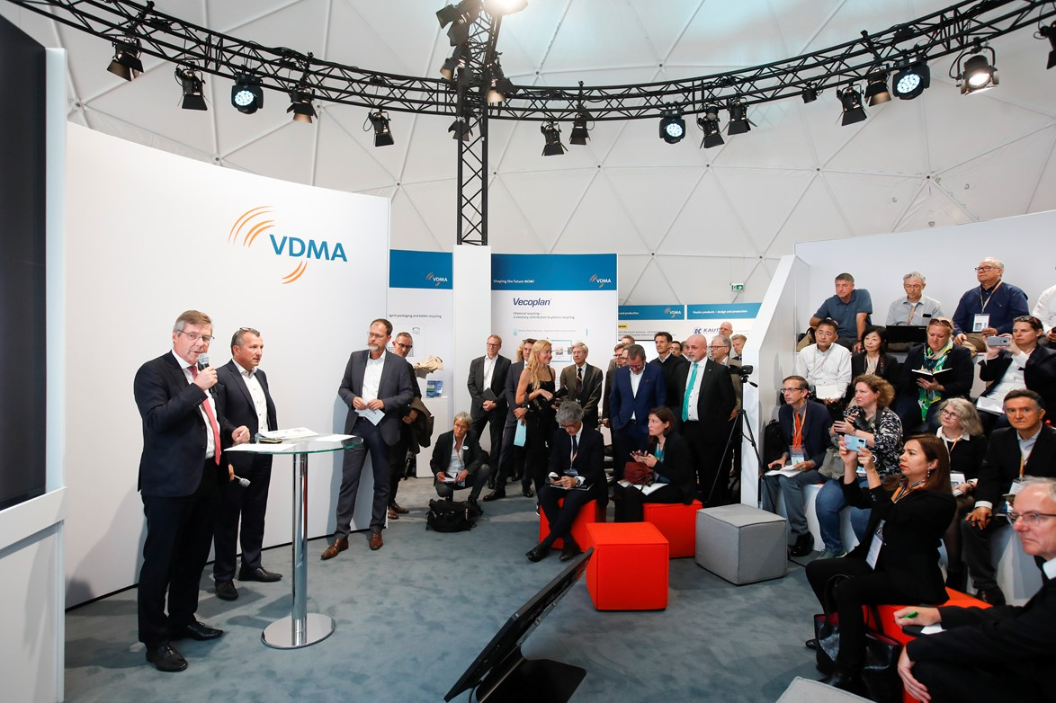 VDMAブースにおける講演