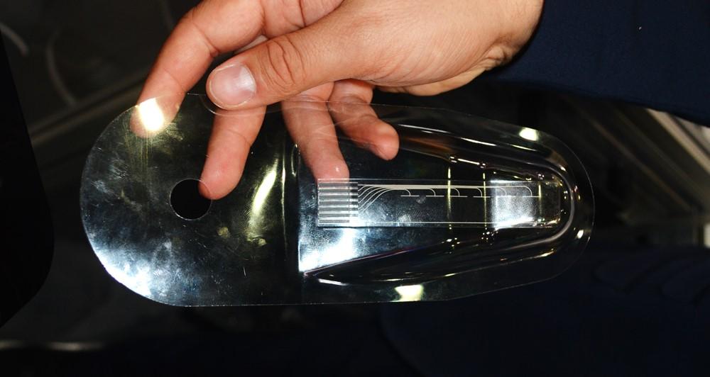 Wittmann Battenfeldのインサート成形に用いられるシート